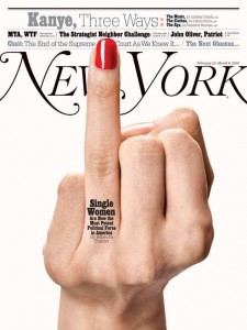 single women new york magazine cover